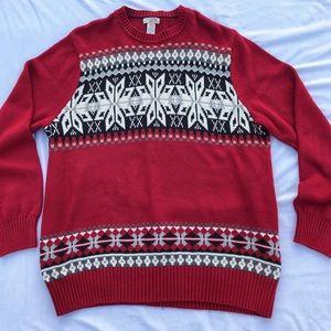 Dockers Snowflake Sweater